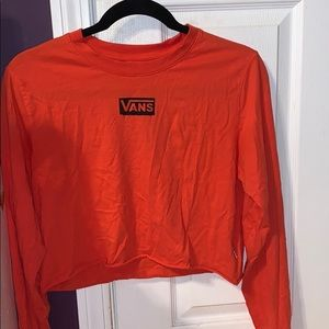 VANS Off The Wall cropper long sleeve